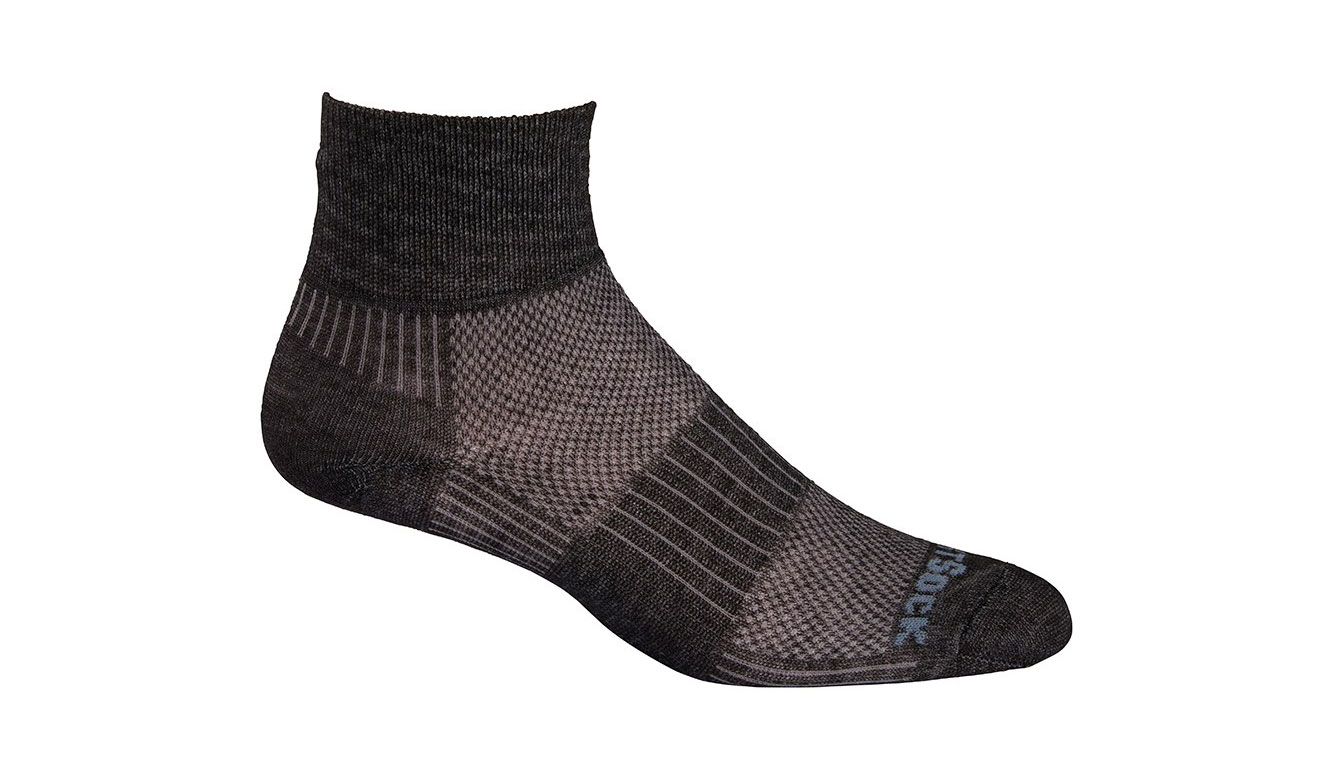 wrightsock coolmesh ii quarter socks