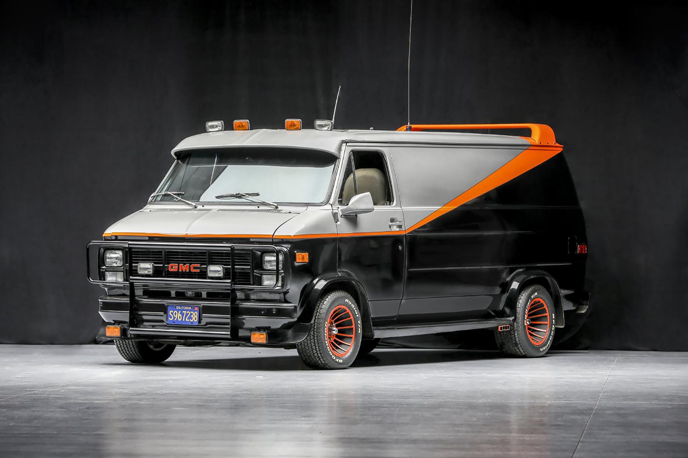 A-Team Van auction