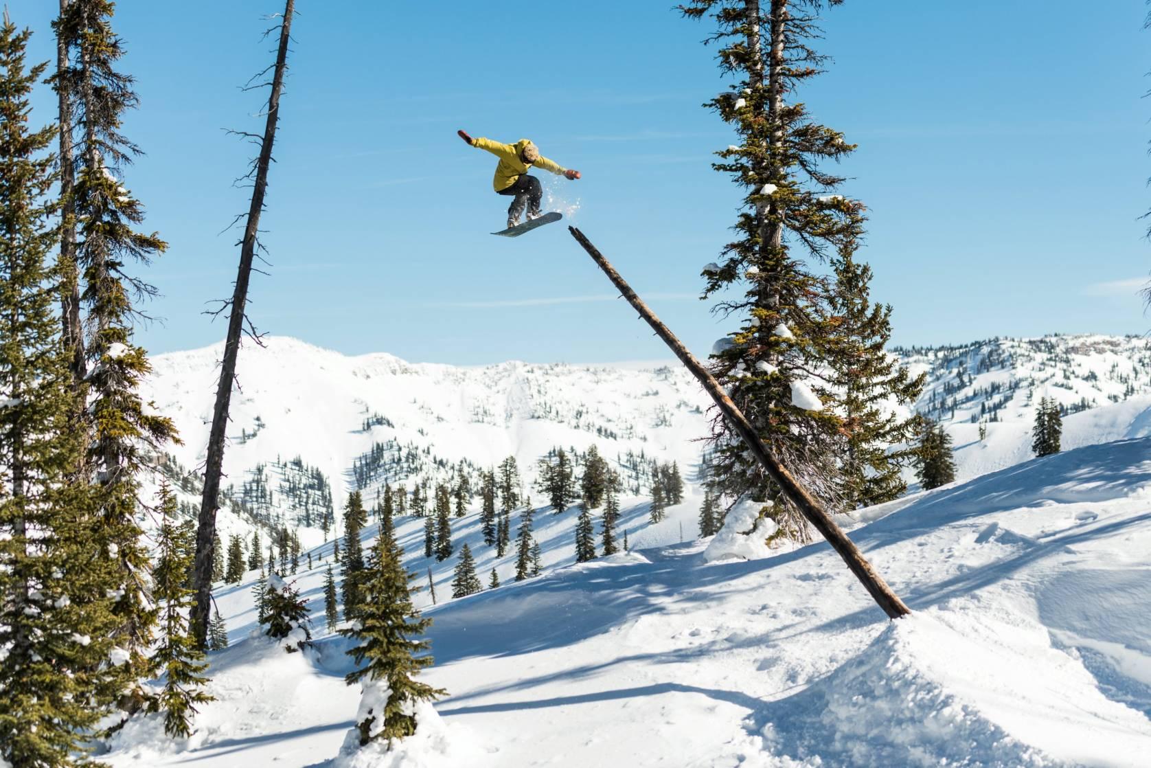 Ben Ferguson snowboarder