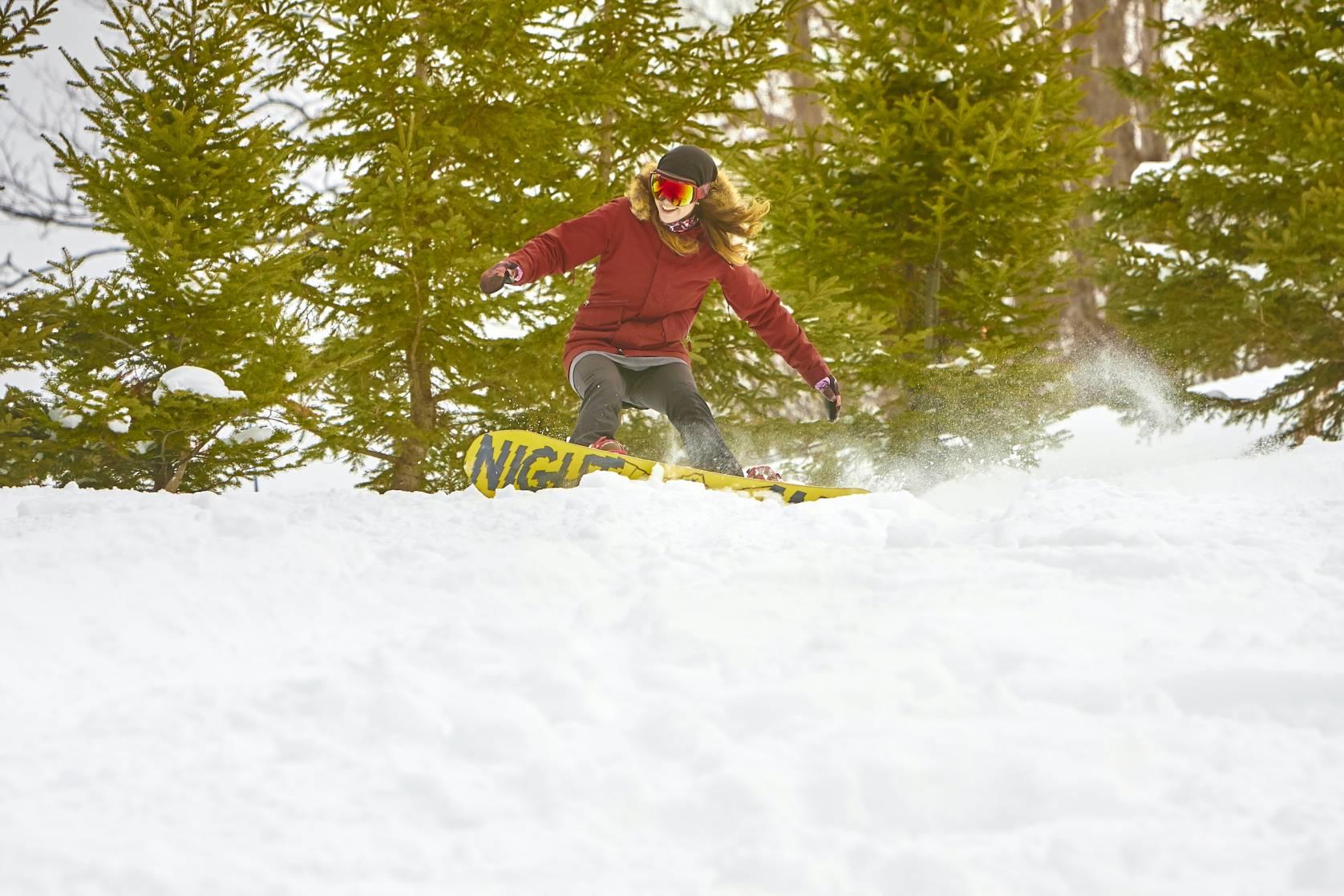 Big Powderhorn ski resort, MI