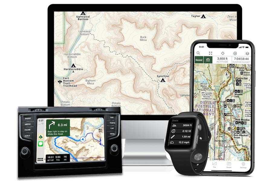 gaia gps, best hunter app