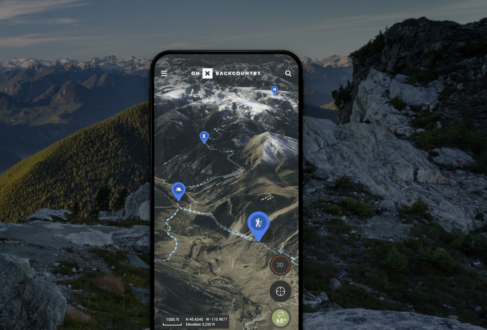 onx backcountry app