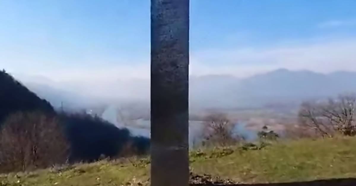 2nd Monolith Disappears Days After Appearing in Romania