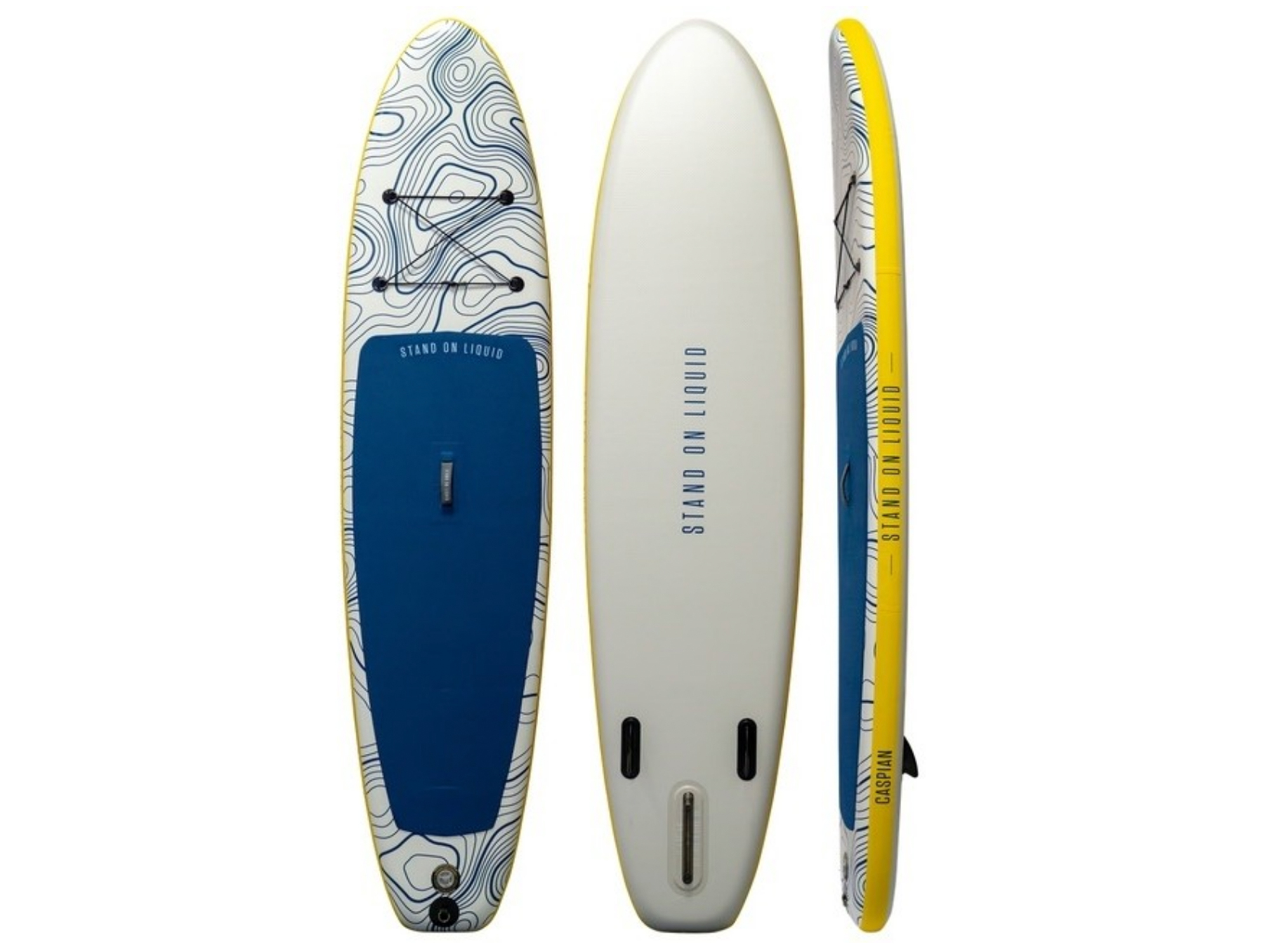 stand on liquid paddleboard