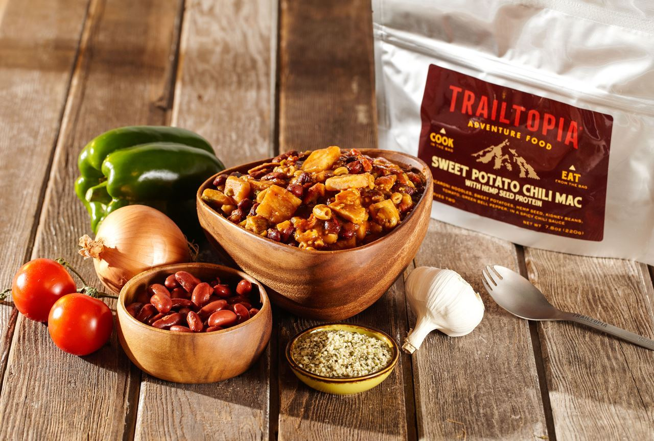 trailtopia sweet potato chili