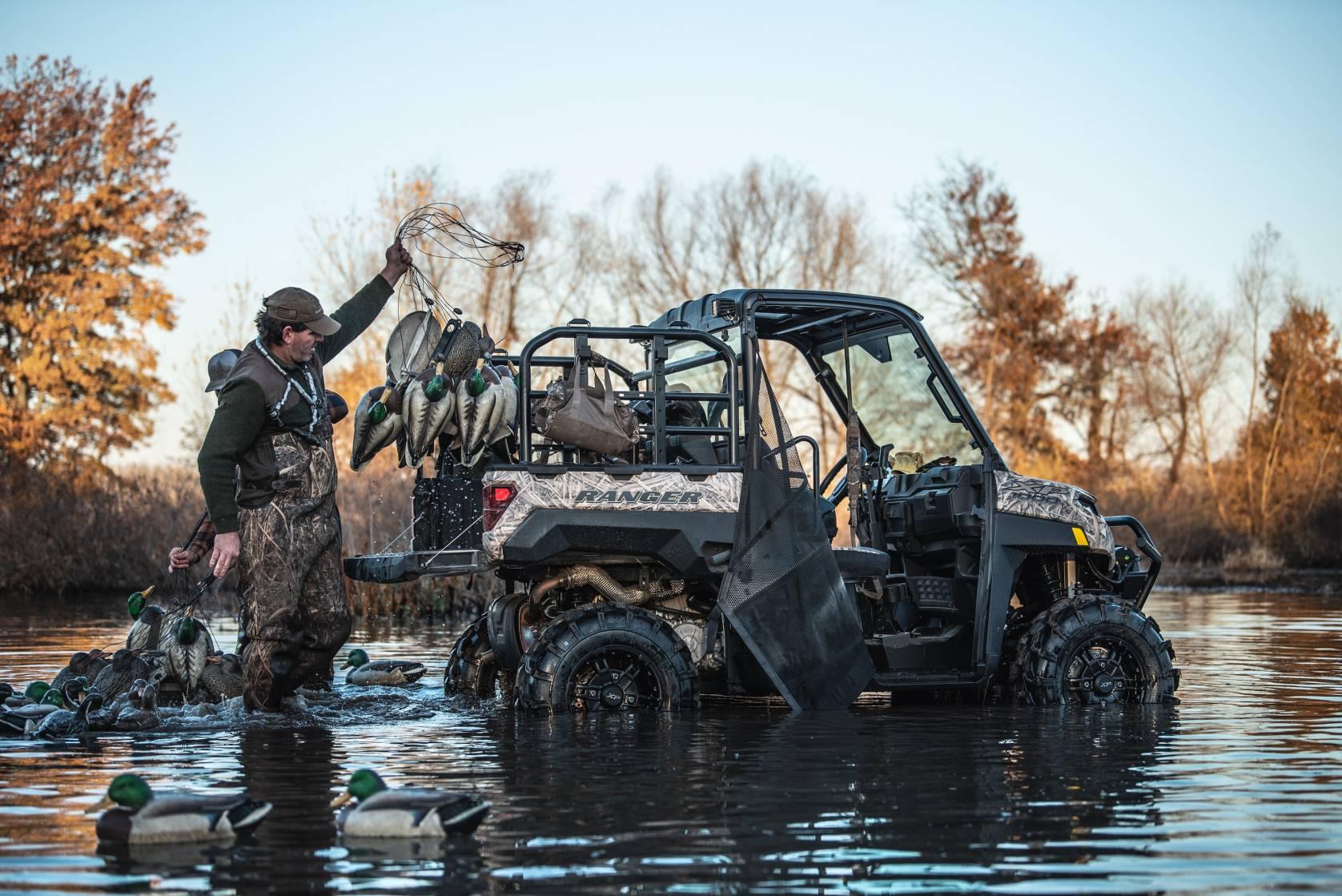 2021 Polaris Ranger Built for Waterfowl Hunting