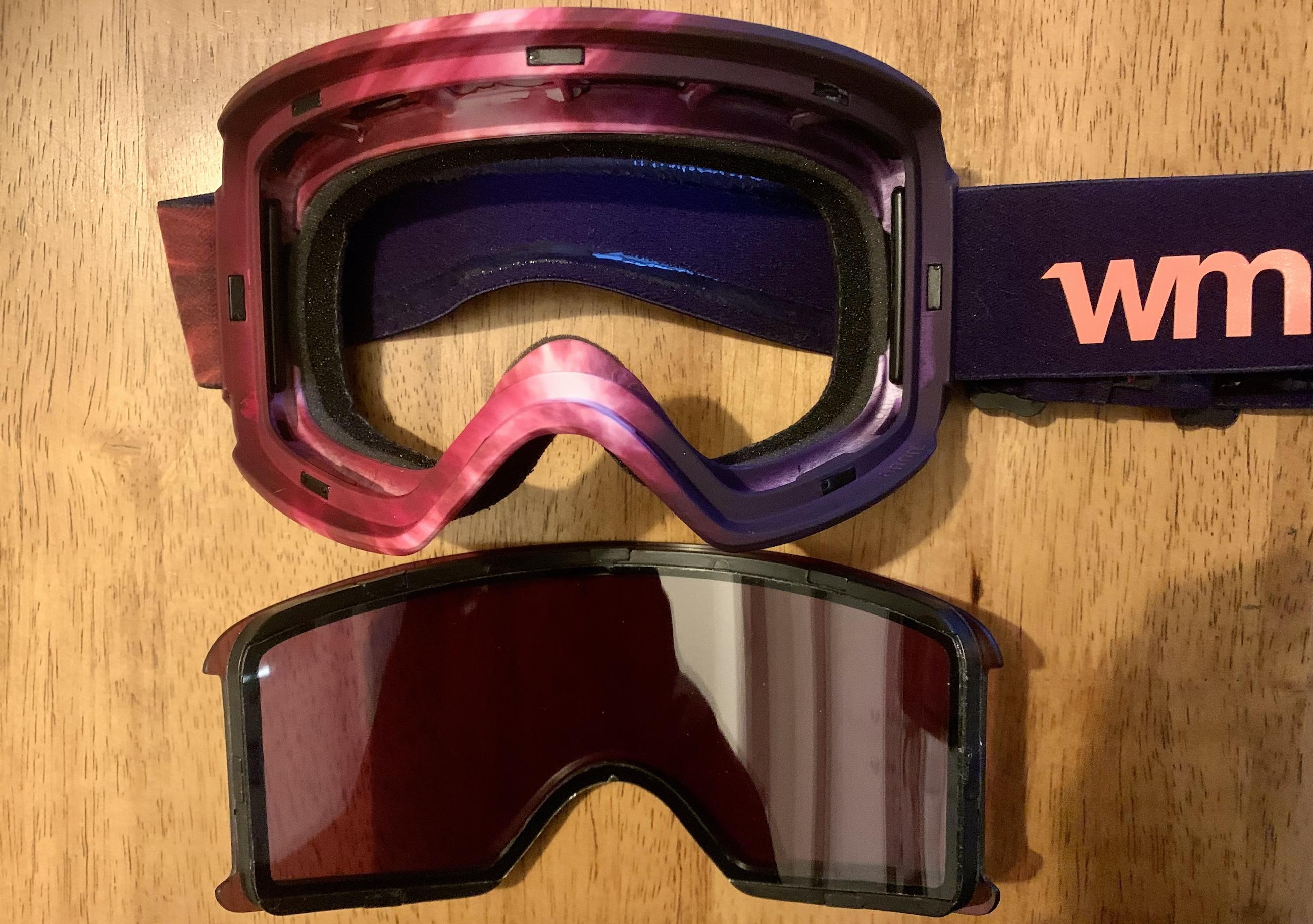 Anon WM3 goggles