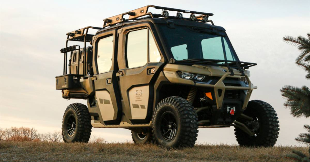 Win This Custom Side-By-Side: Can-Am Defender Max Limited 'Upland Hunting' Build | GearJunkie