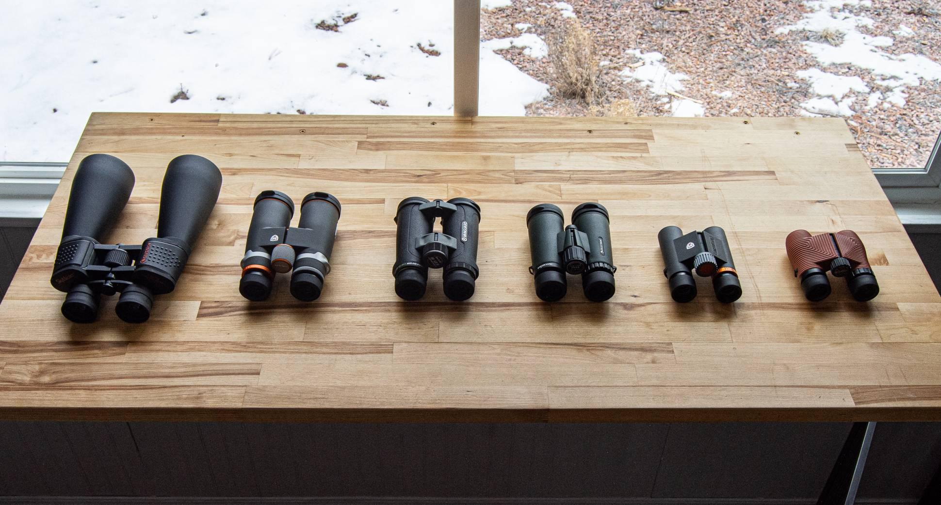 Comparing Binoculars