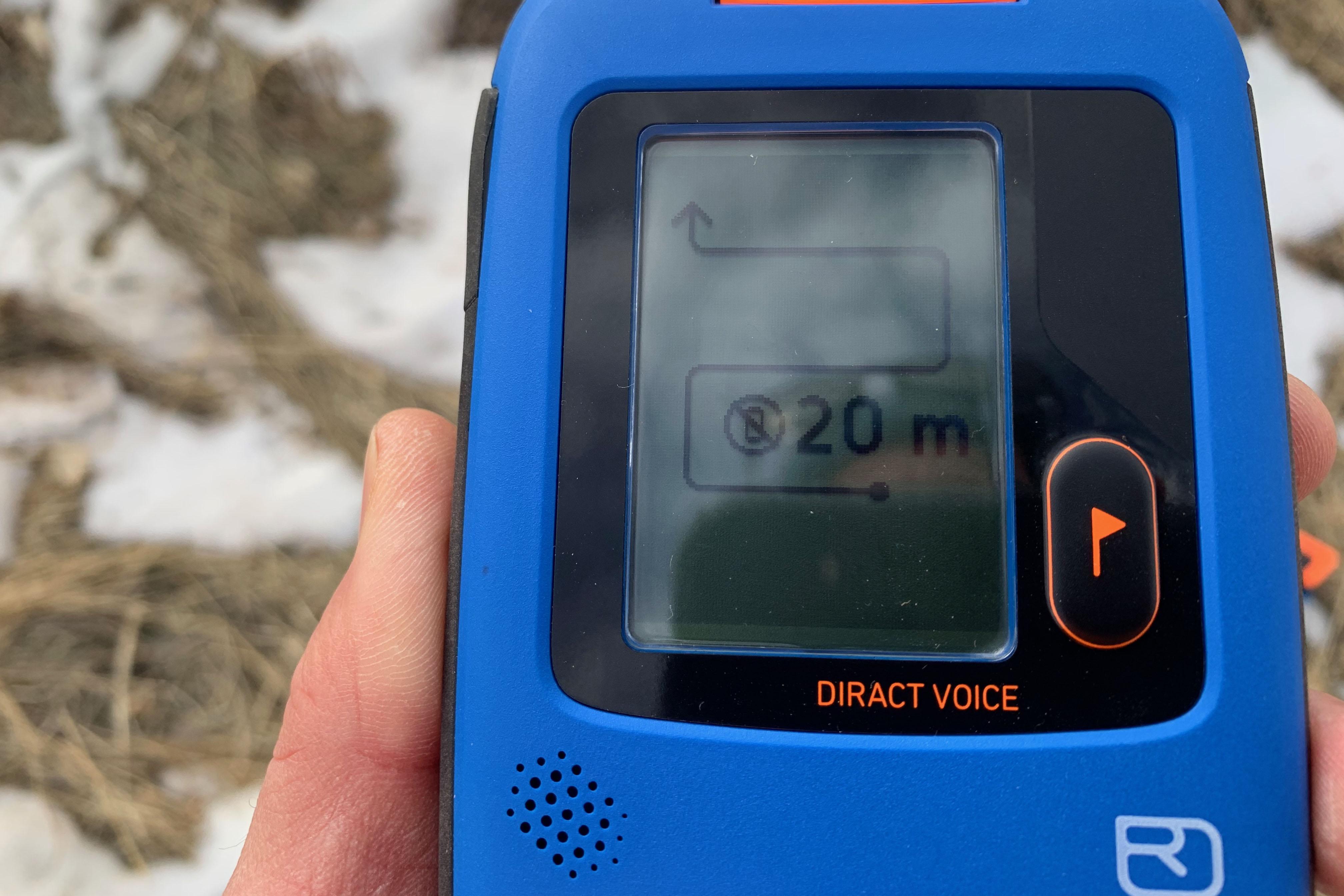 Ortovox Diract Voice Avalanche Beacon