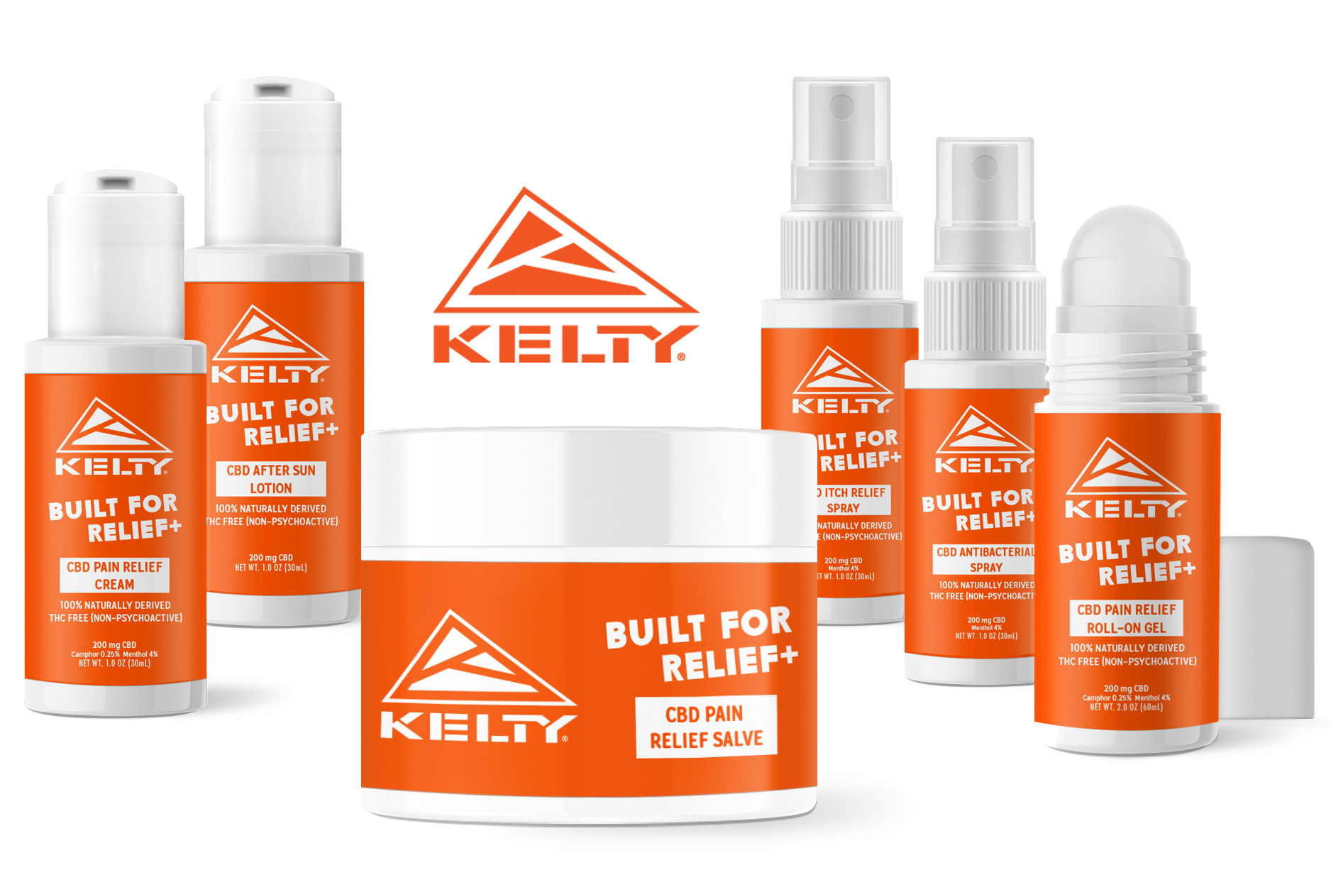 Kelty pain relief CBD