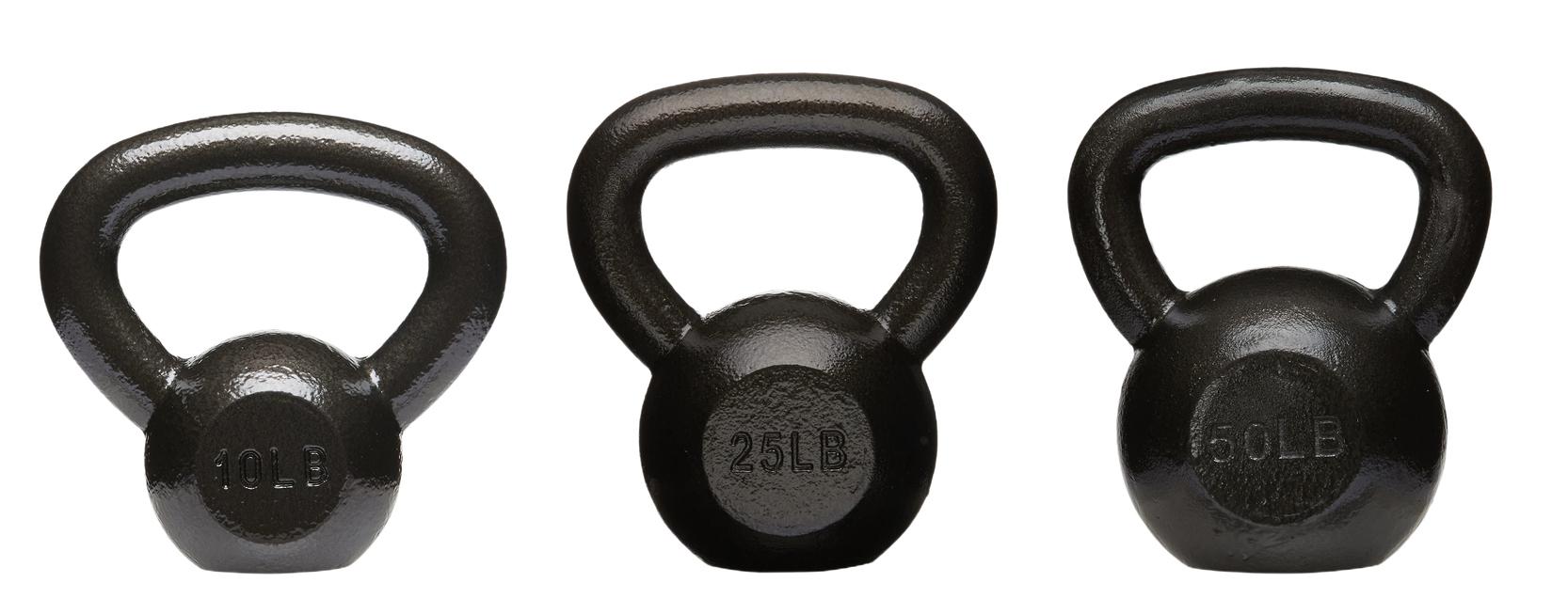 amazon basics cast iron kettlebell