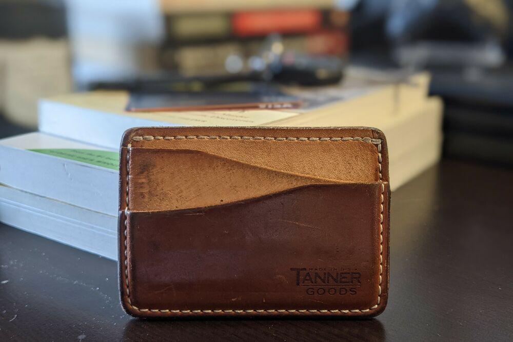 Tanner Goods minimalist wallet