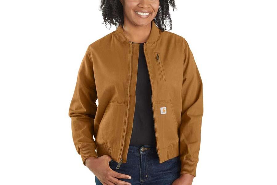 carhartt crawford bomber jacket
