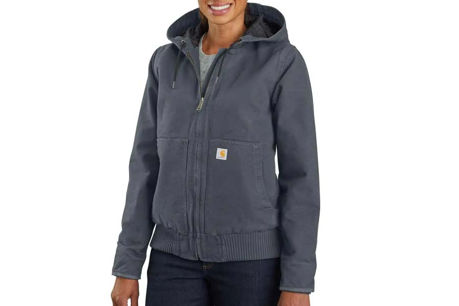 carhartt washed duck insulated jacket