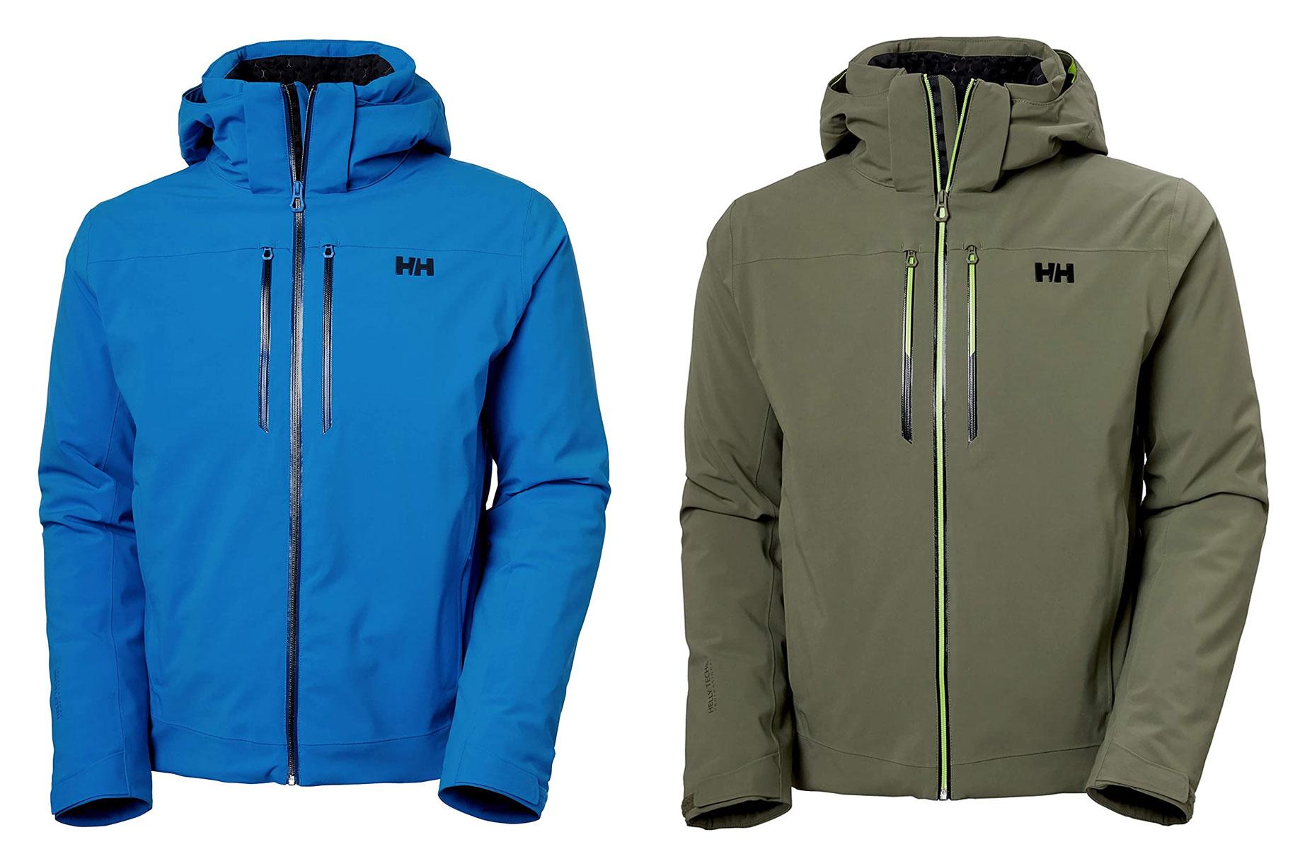 mens ski jacket: helly hansen alpha lifaloft