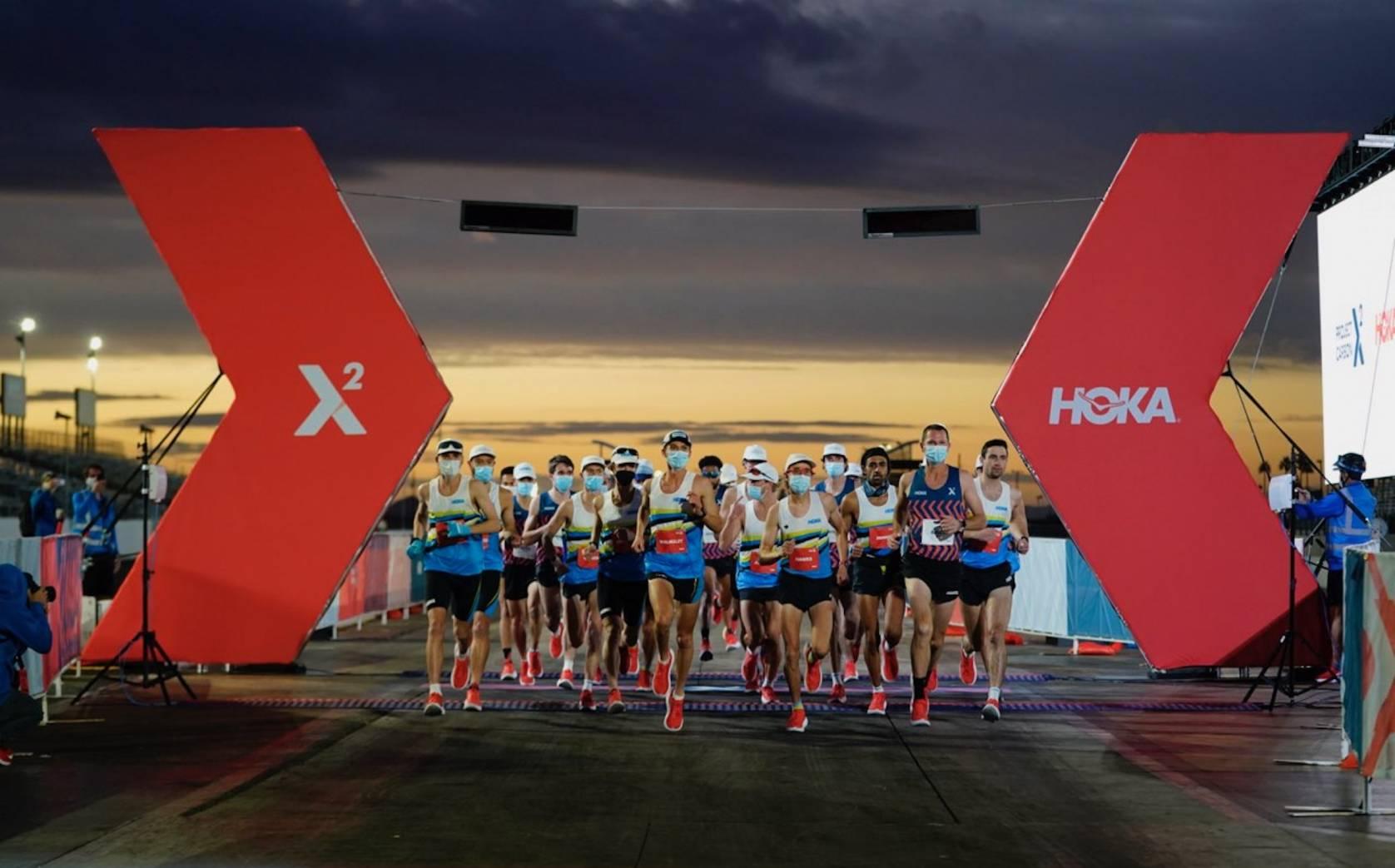 HOKA ONE ONE Project Carbon x 2 race