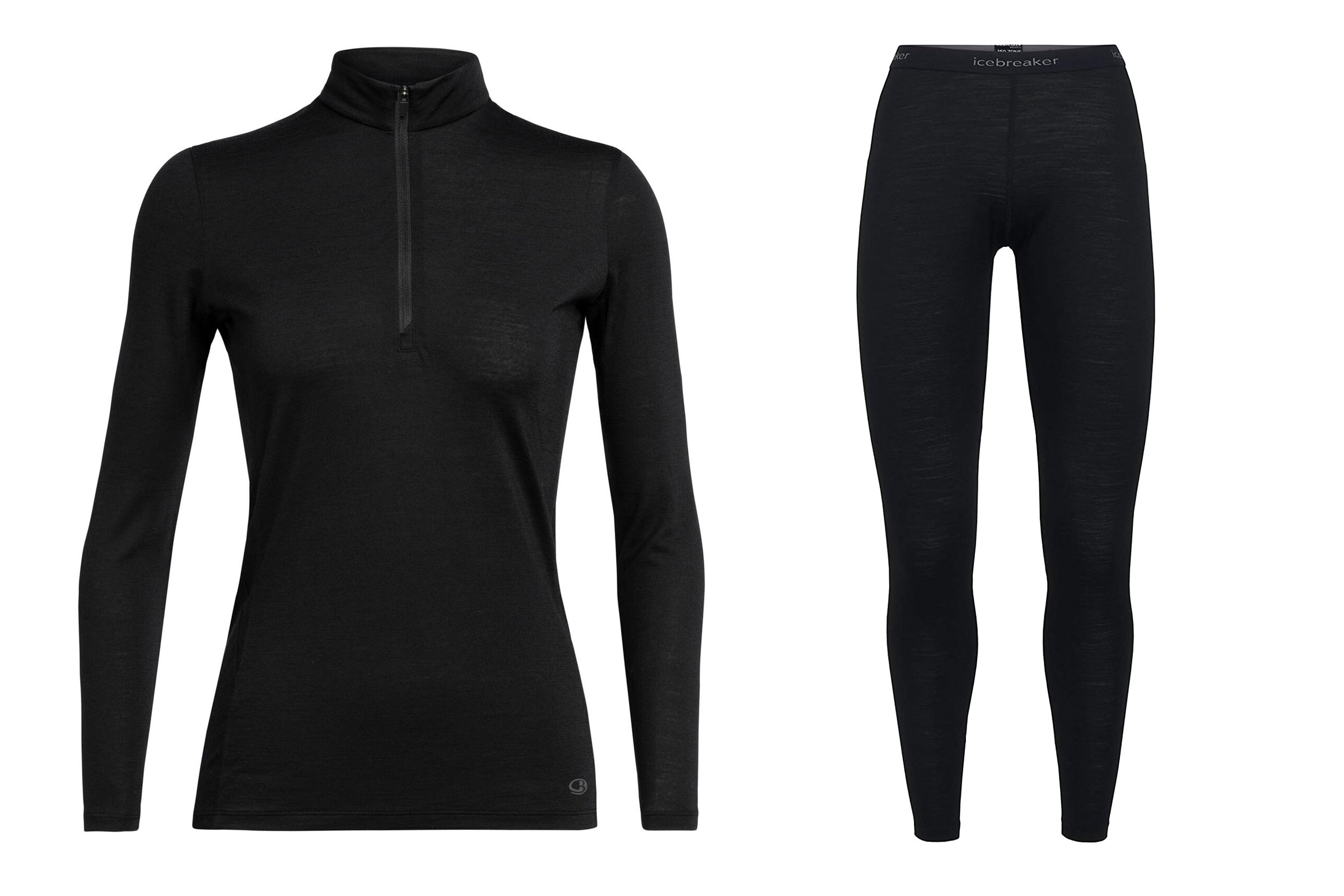 backcountry snowboarding: icebreaker coolite long sleeve & bodyfit zone 150 leggings