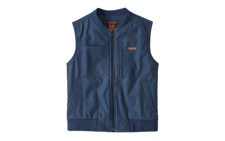patagonia all-seasons hemp canvas vest