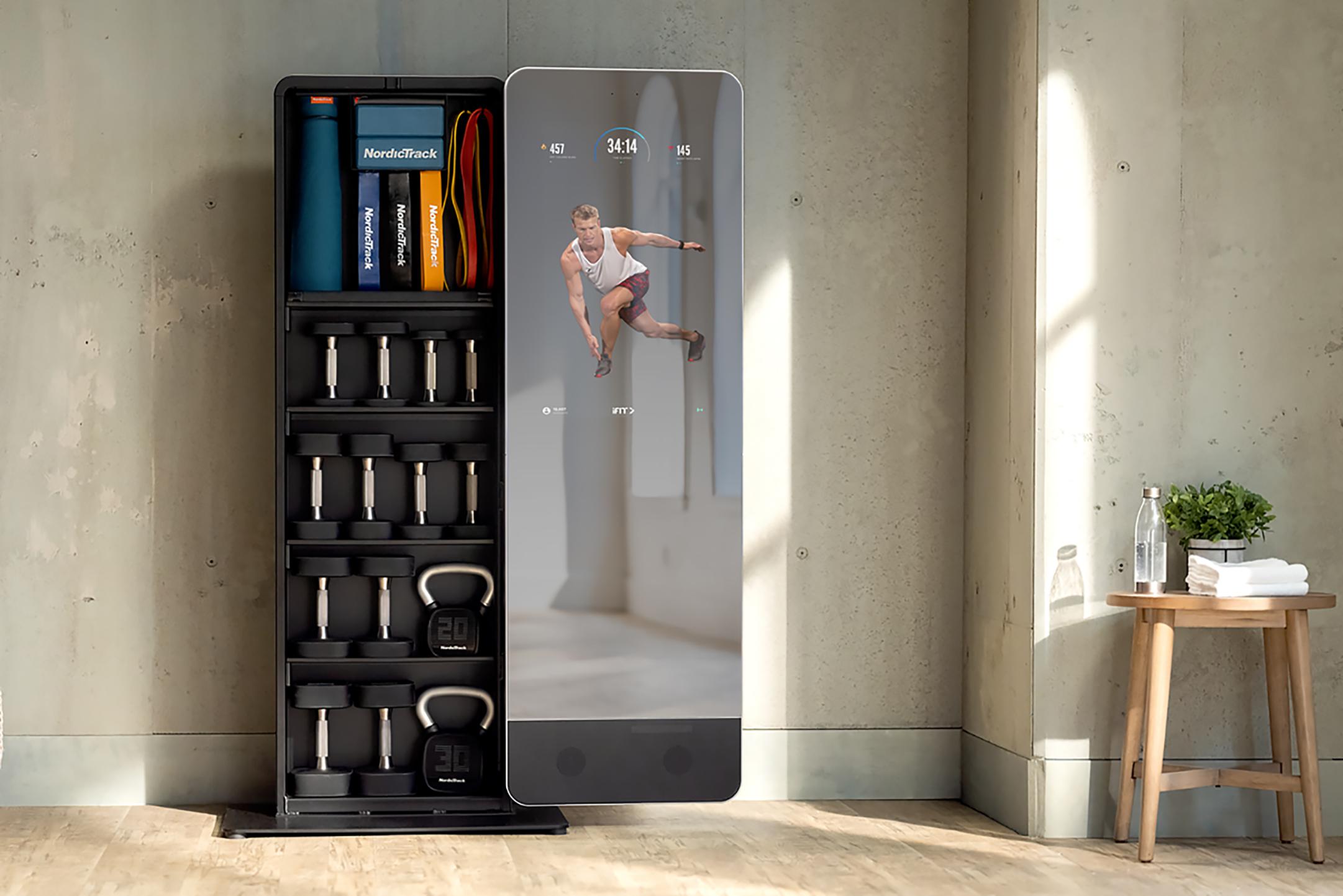 NordicTrack Vault smart mirror