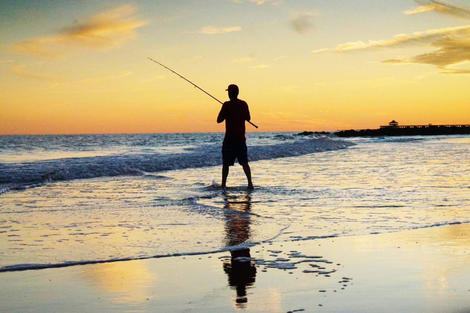 shore fishing