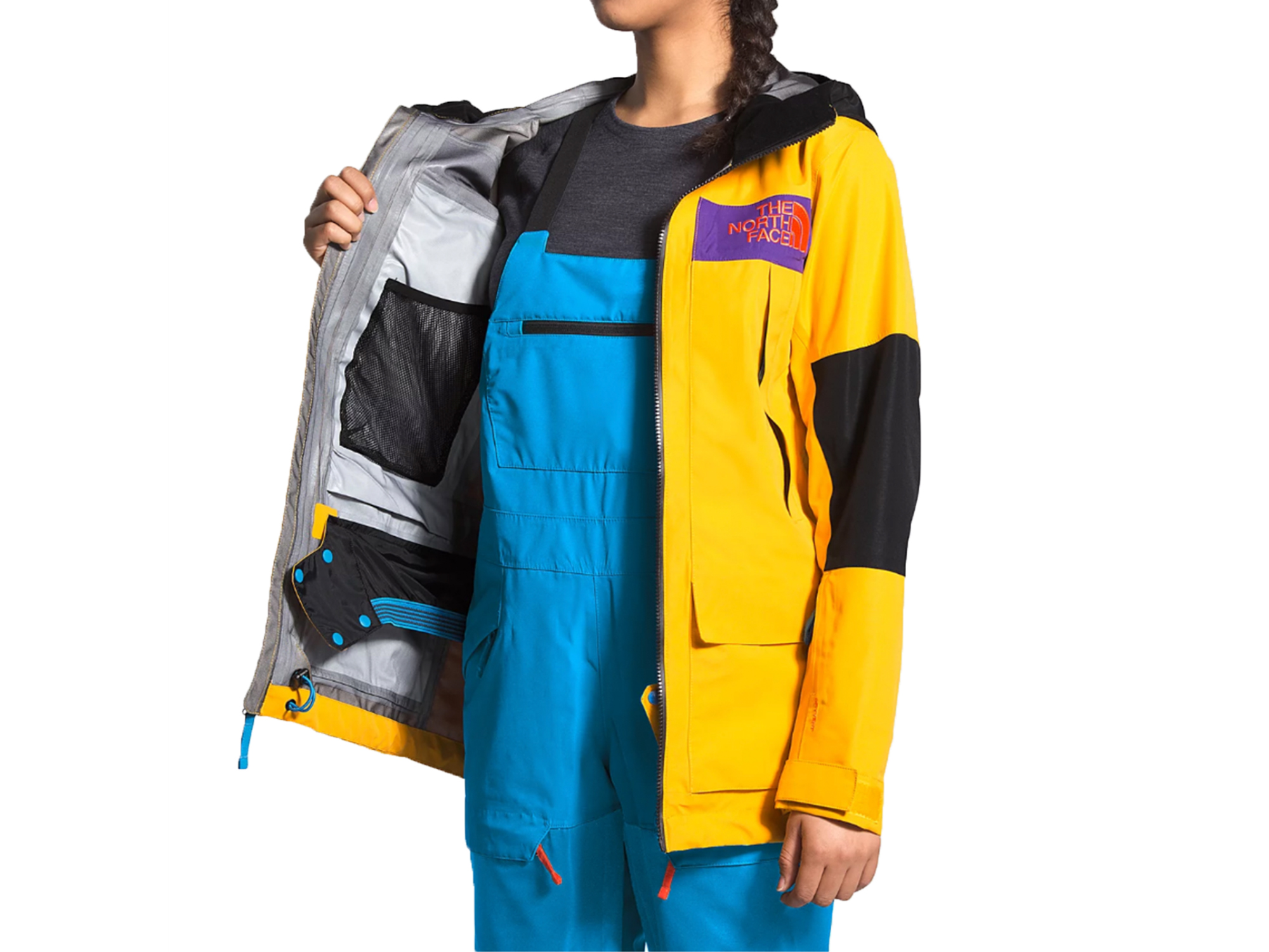 the north face team kit bib