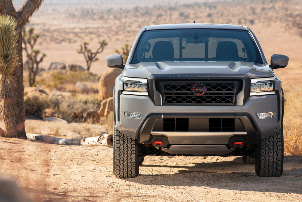 2022 Nissan Frontier grille
