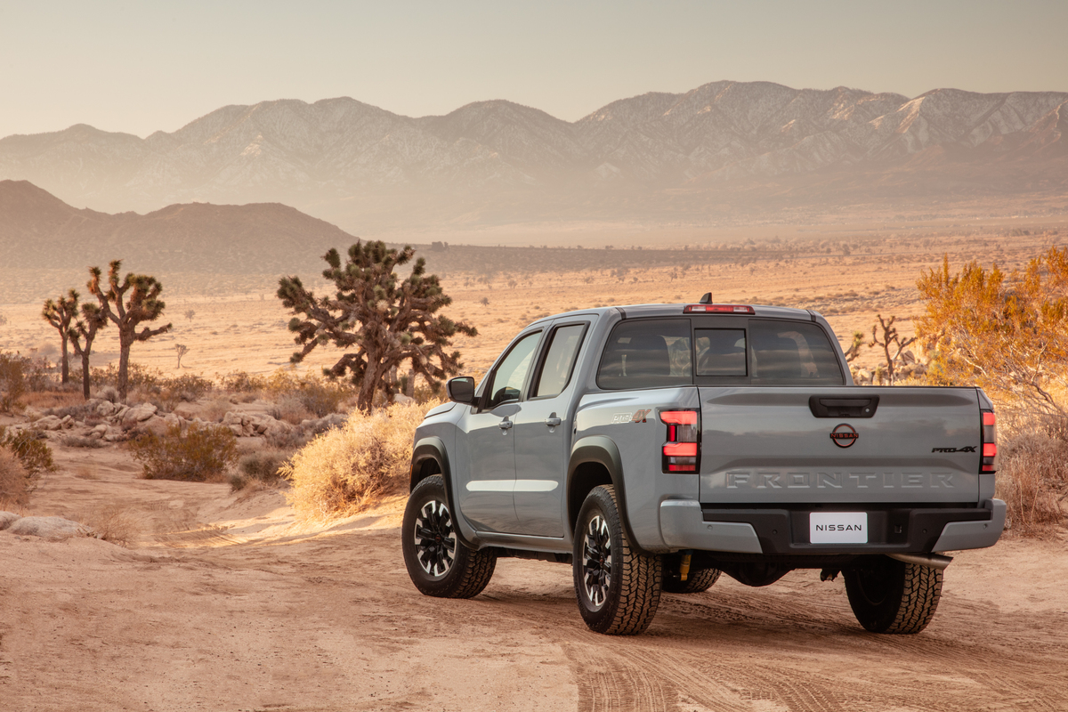 2022 Frontier rear view