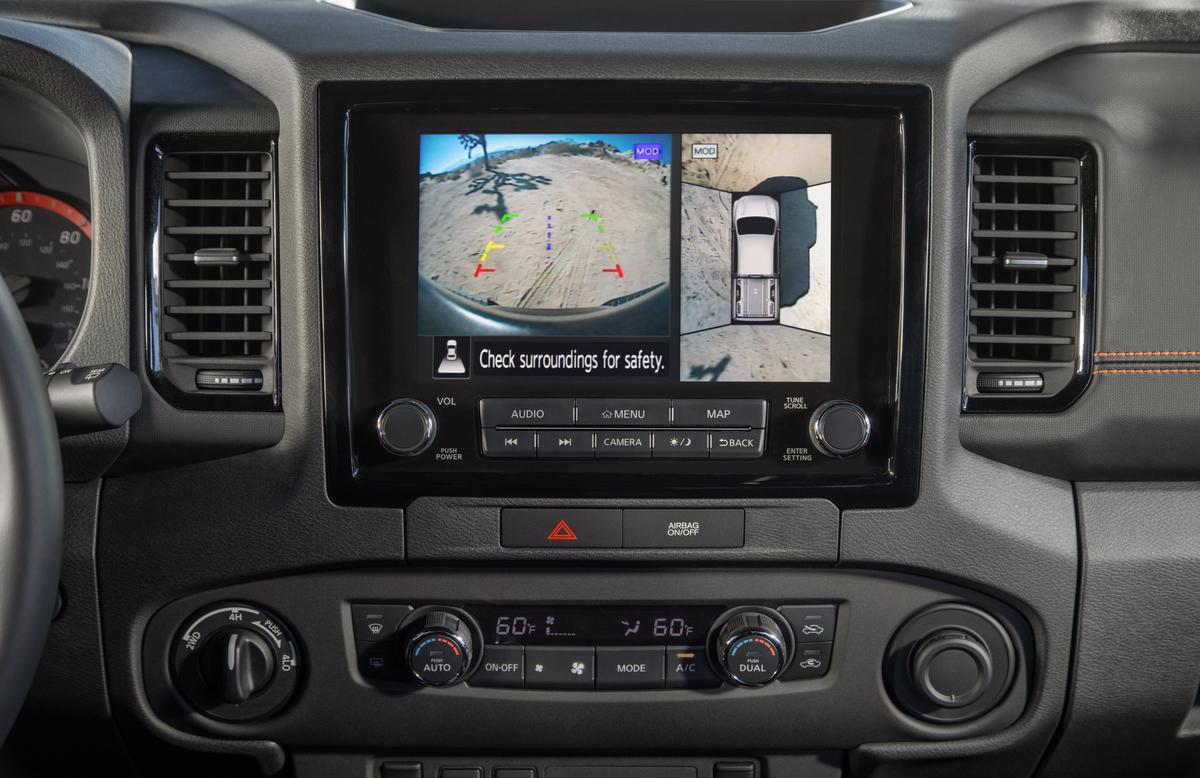 2022 Nissan Frontier Surround Camera