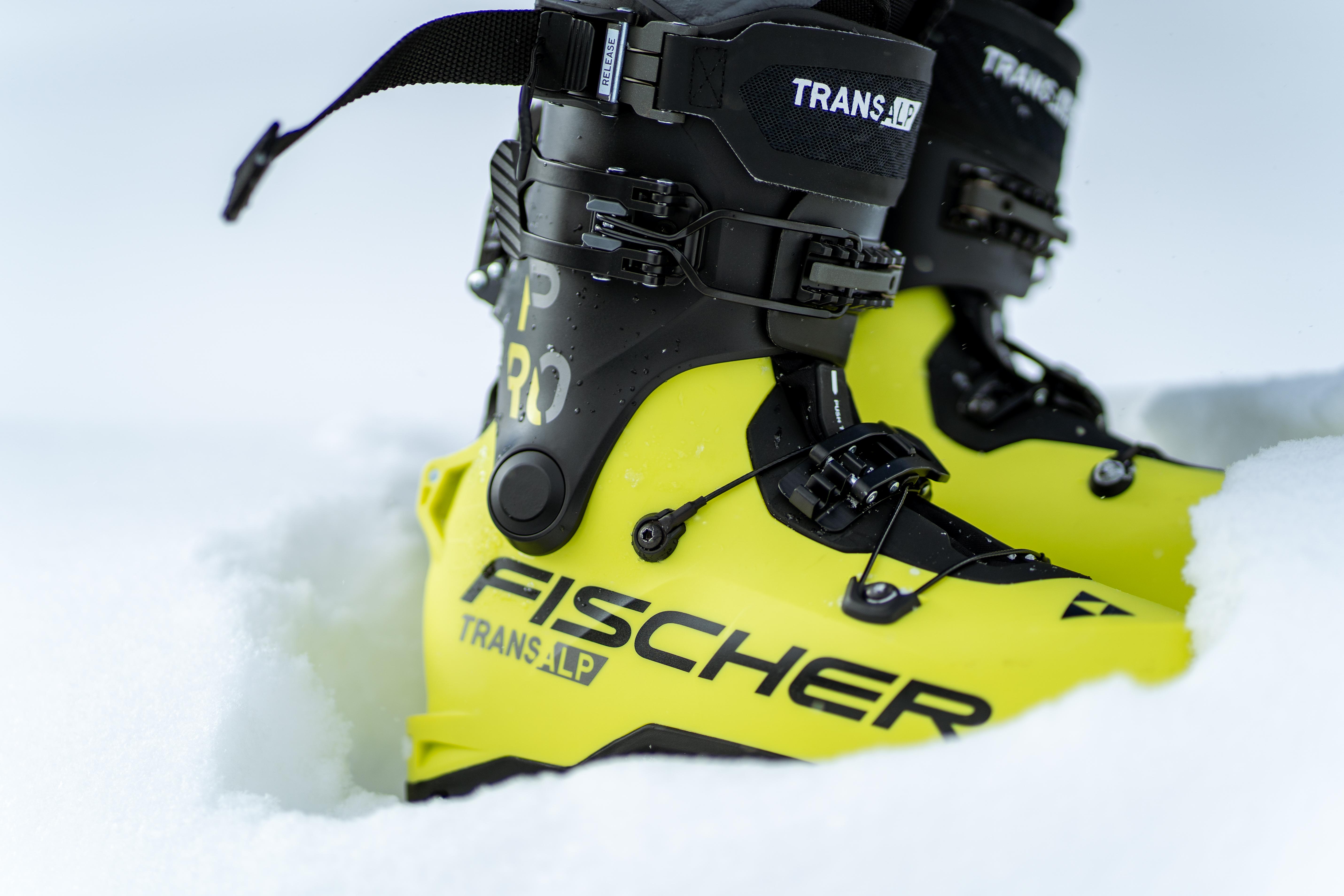 Fischer Transalp Pro ski boot