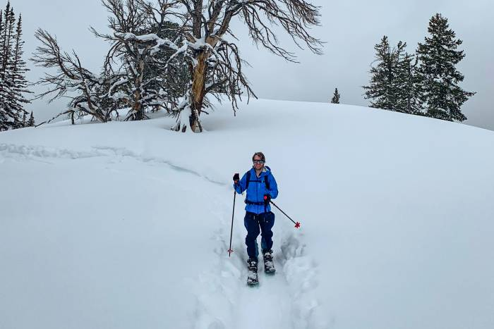 Backcountry Splitboarding in the Wasatch Mountains with Guide Willie Benegas; 57hours