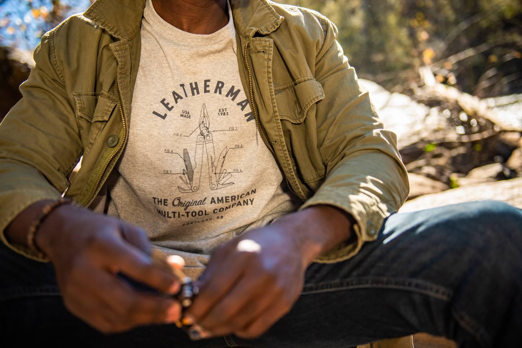 Leatherman apparel