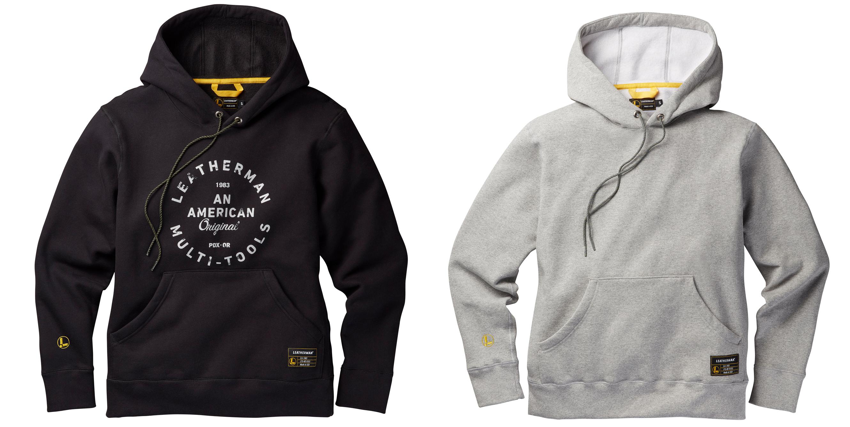 Leatherman hoodies
