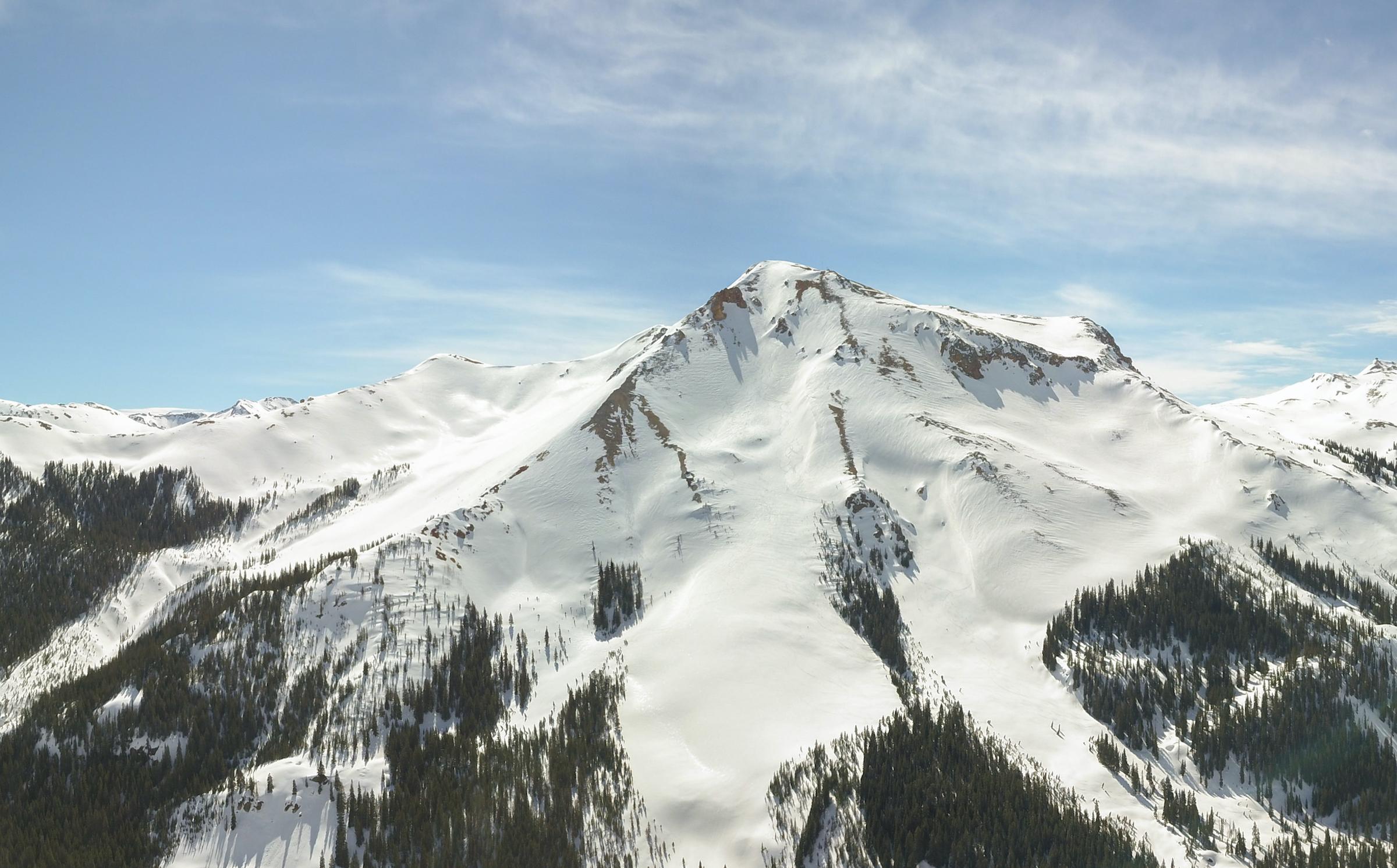 backcountry mountains near Silverton, CO