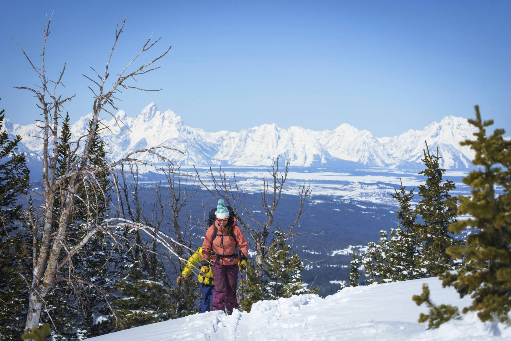 Scenic Skiing