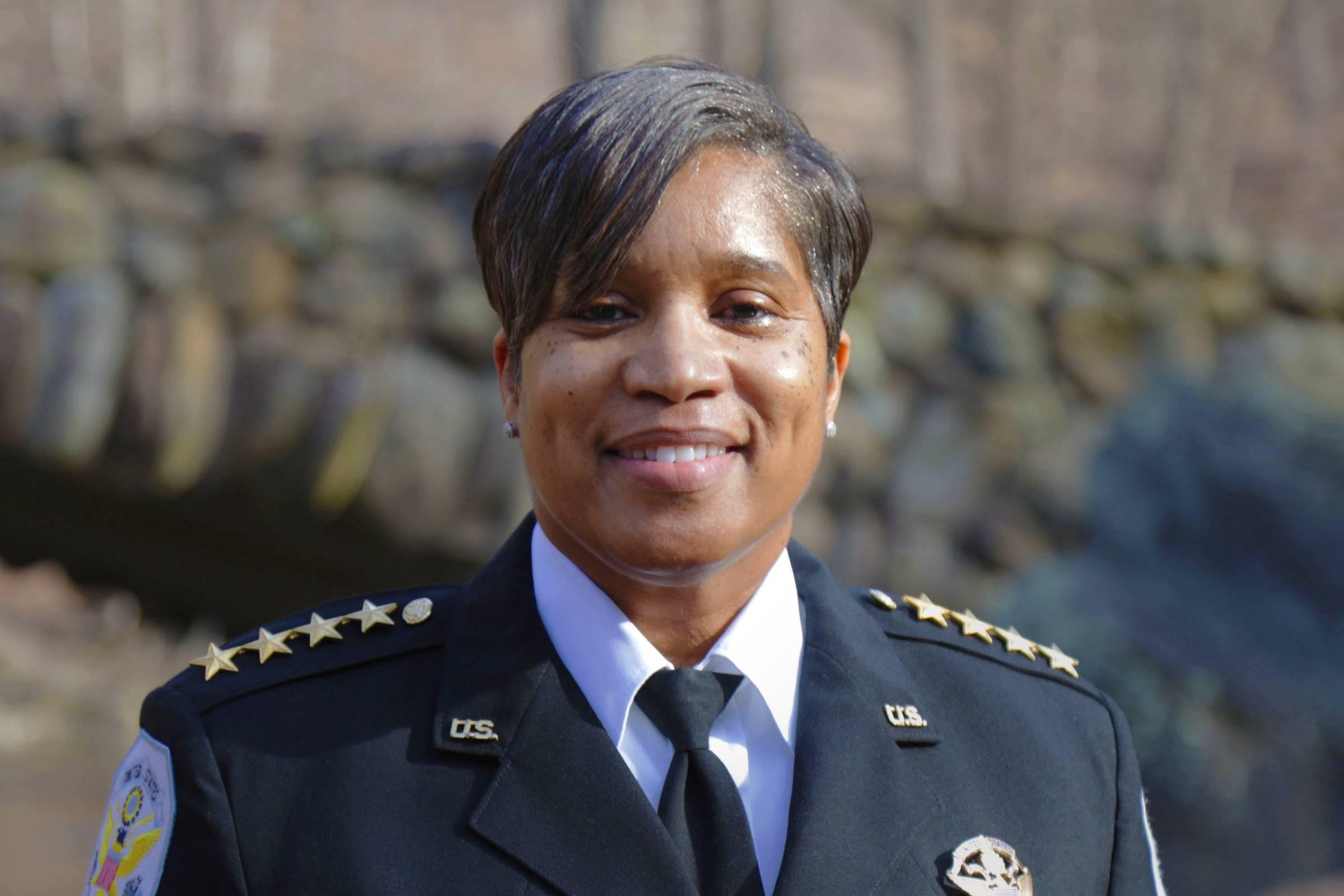 U.S. Park Police Chief Pamela A. Smith