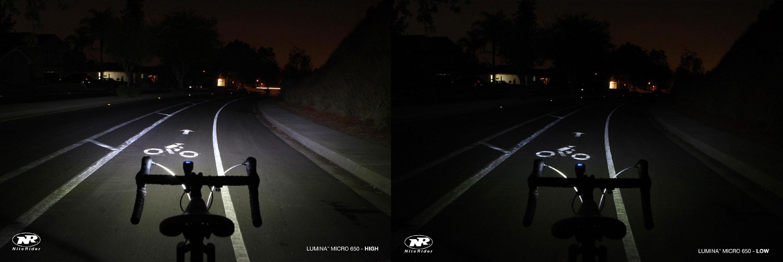nightrider lumina micro 650