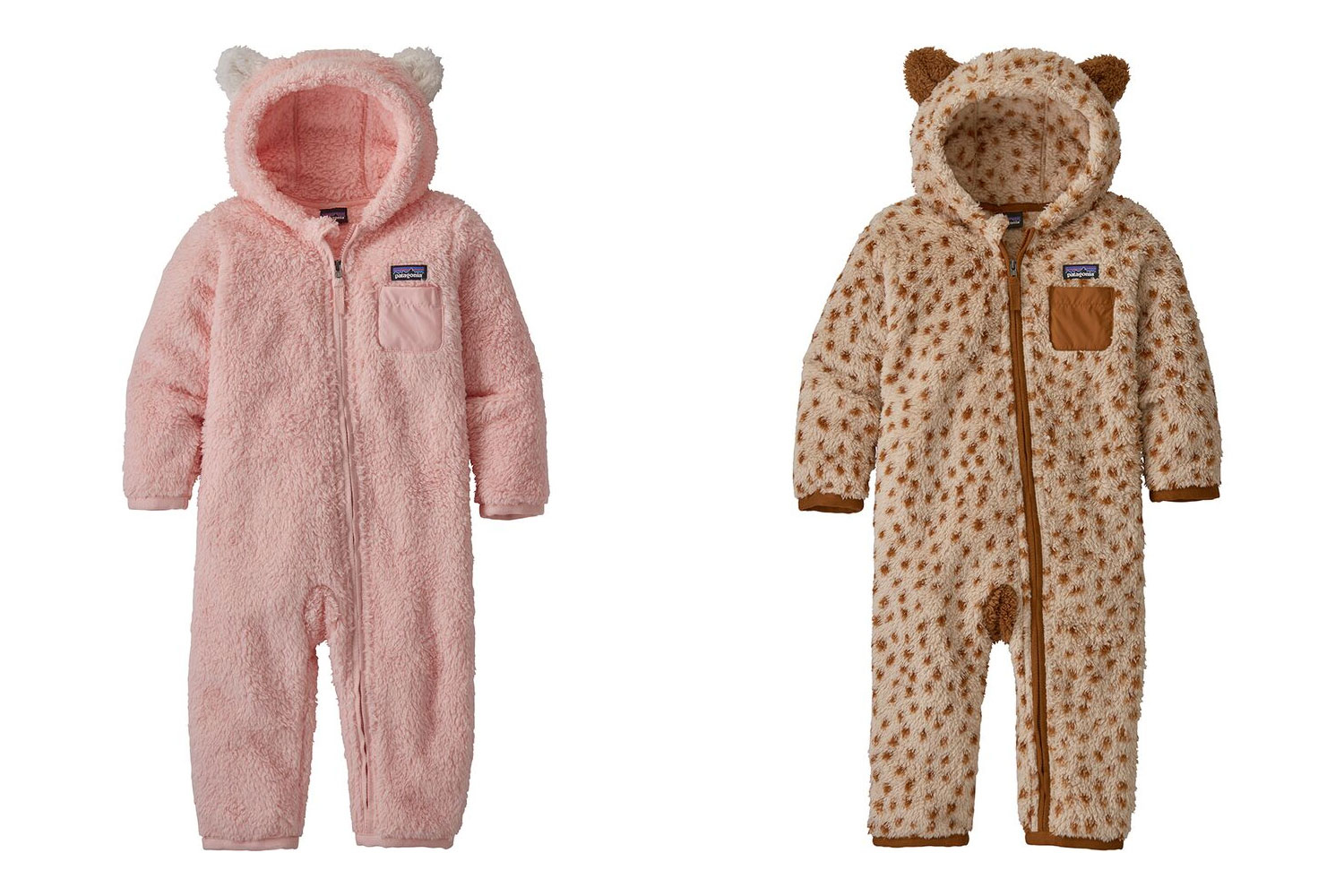 patagonia baby furry friends bunting suit