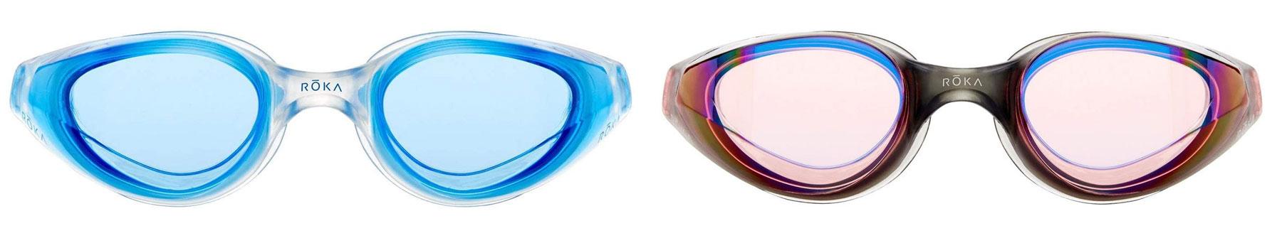 roka r1 anti-fog swim goggles