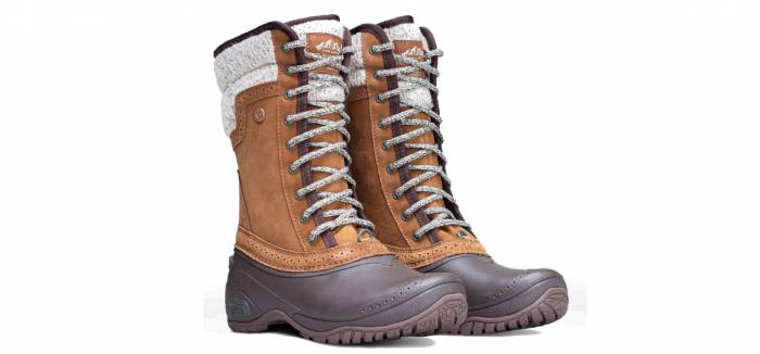 the north face shellista mid boot W