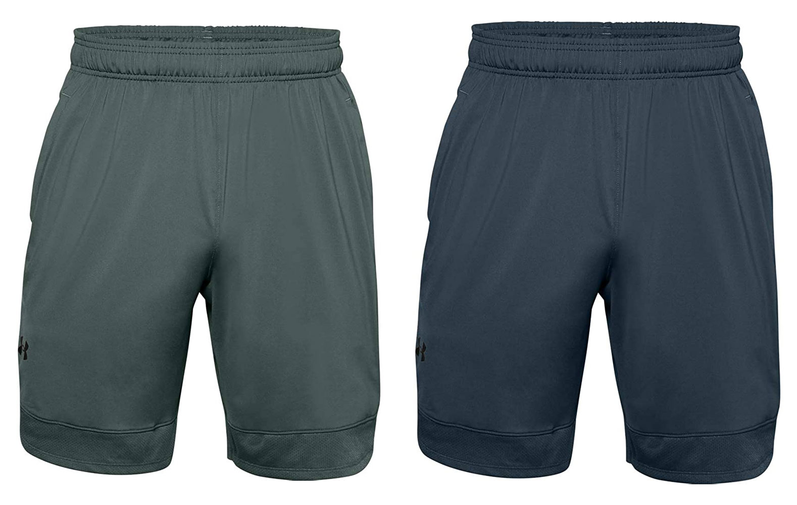 under armour men's training stretch shorts