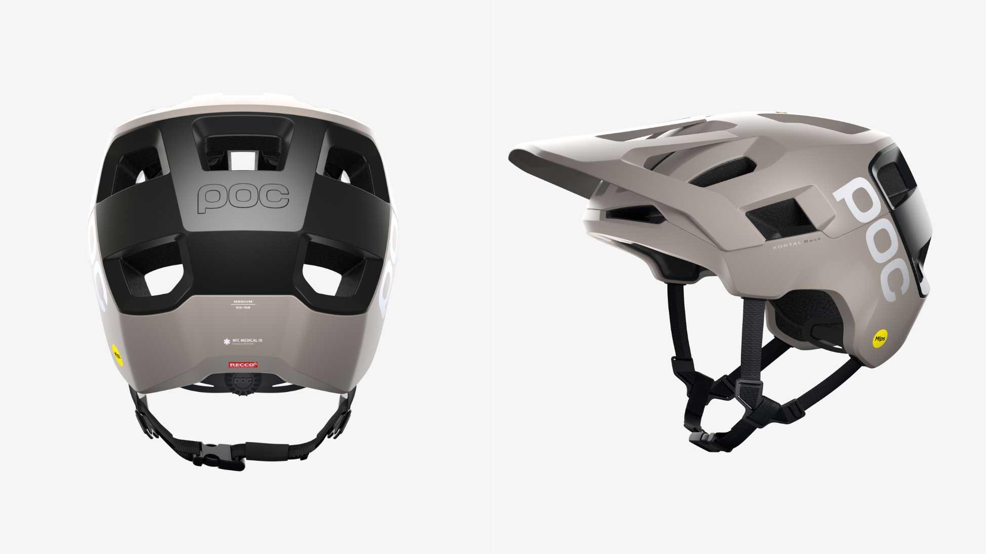 kortal mips race helmet visor