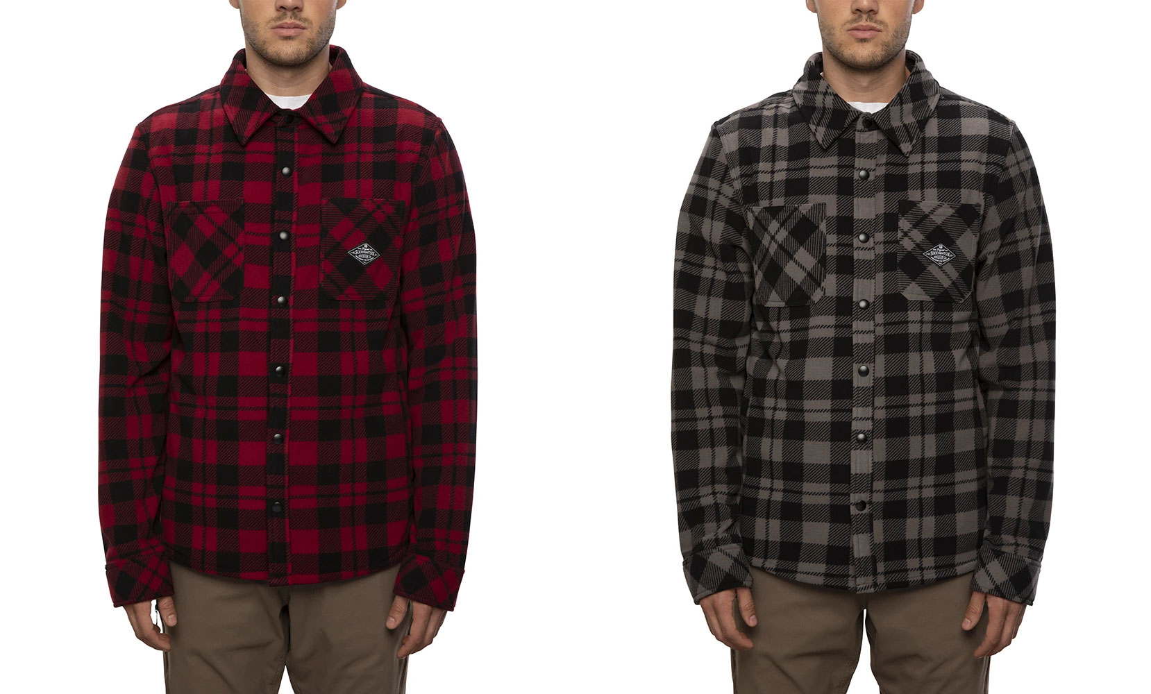 686 sierra fleece flannel