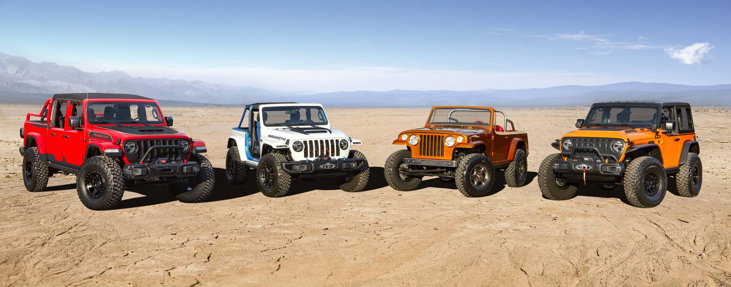 2021 Easter Jeep Safari Jeep concept vehicles