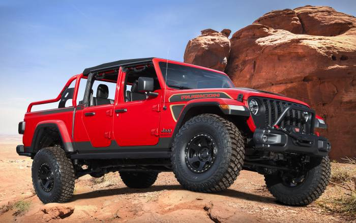 2021 Jeep Red Bare Concept
