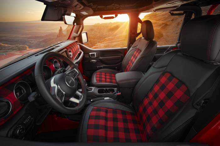 2021 Jeep Red Bare Concept interior