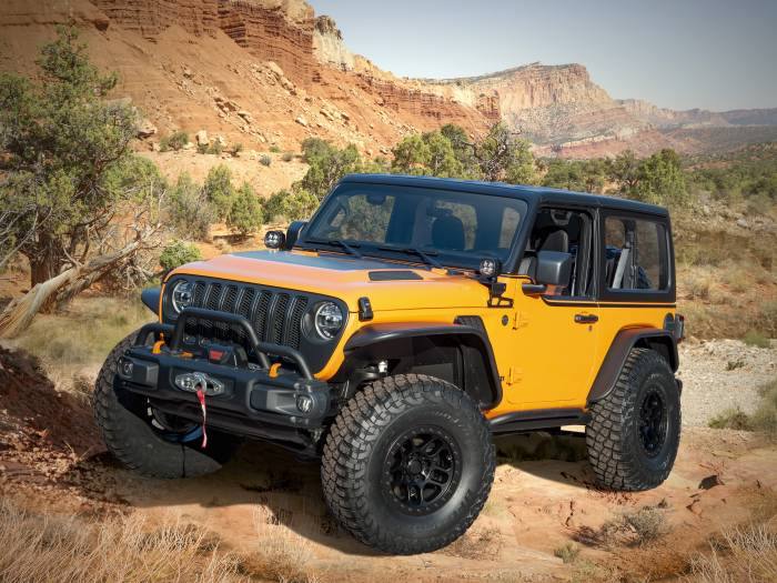 2021 Jeep Orange Peelz Concept
