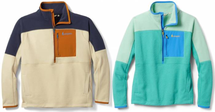 Cotopaxi Dorado Half Zip Fleece Jackets