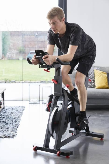 Decathlon Domyos exercise bike handlebars