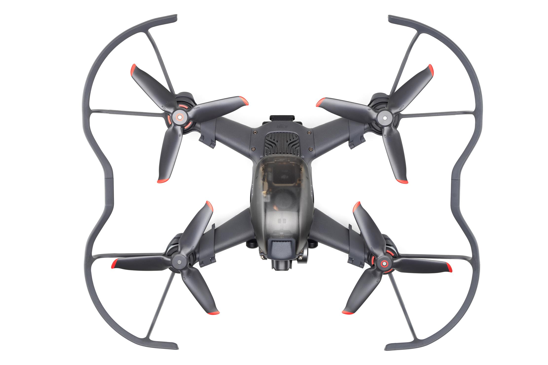 Drone + protectores de hélice 2